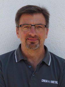 Creametal-Chef Dirk Weisel