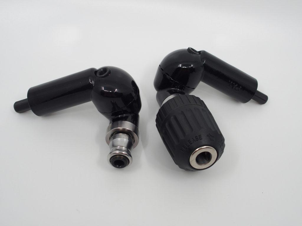 Neue Werkzeuge fuer den Akkuschrauber: Winkelbohren