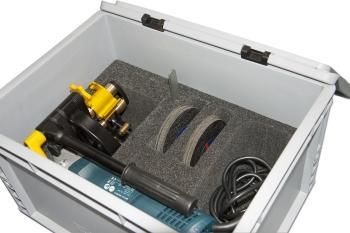 Der Rohrtrenner We-Ro-Cut lieferbar mit Schutzkiste fuer den mobilen Gebrauch