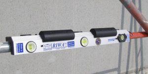 Laserwinkelwasserwaage-Magnet-creametal-montage