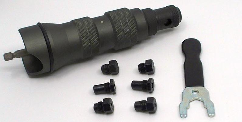 Nietaufsatz für Akkuschrauber