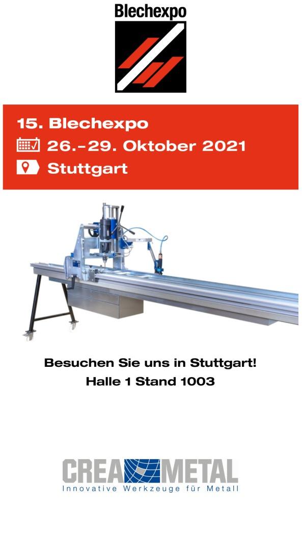 Blechexpo 2021 Stuttgart
